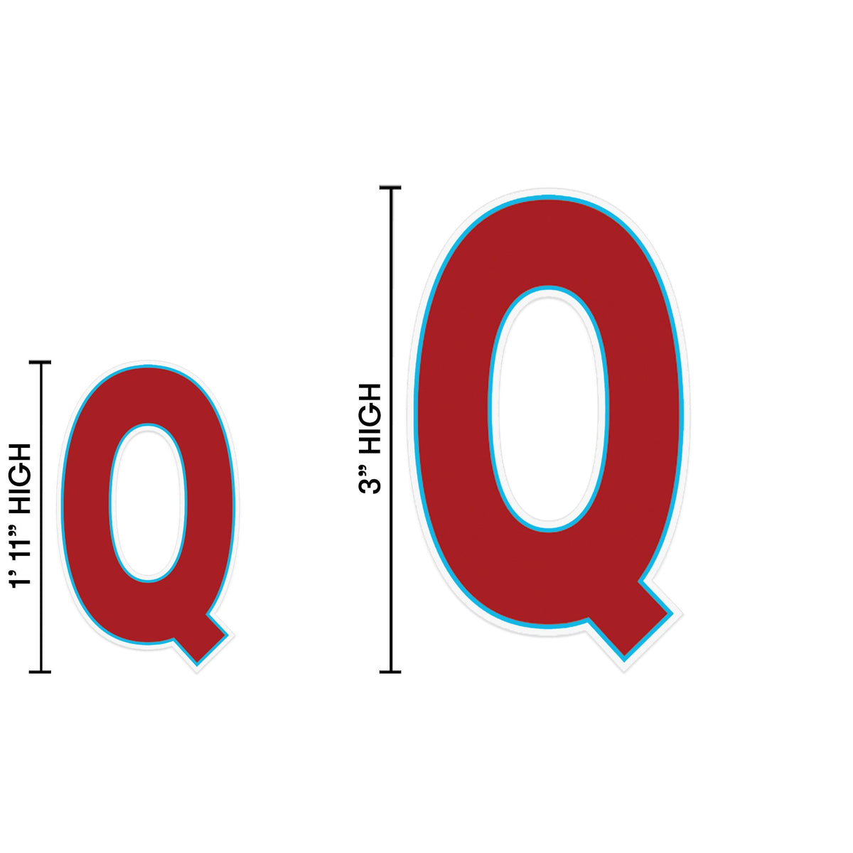 Yard Sign Expression Letter Q