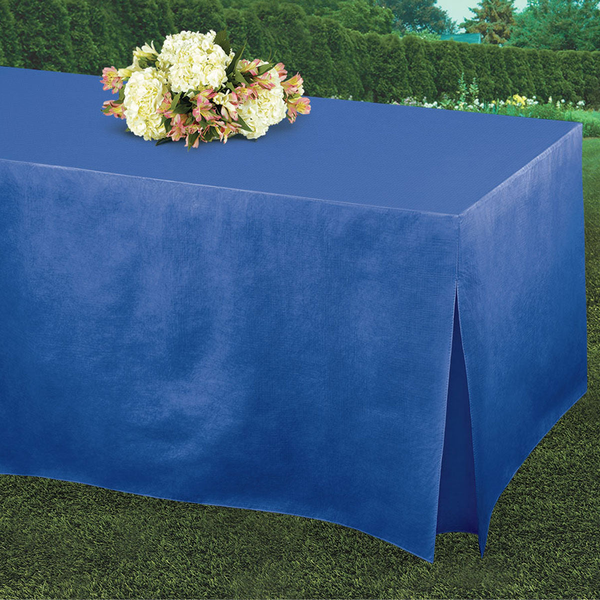 Royal Blue Tablefitters Table Cover