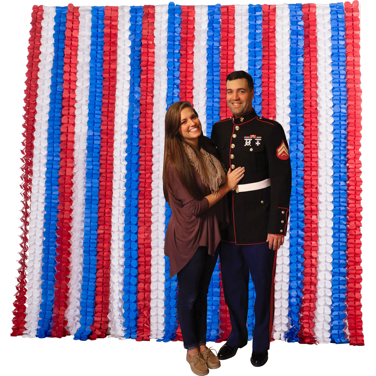 8 ft. DIY Photo Booth Backdrop Board