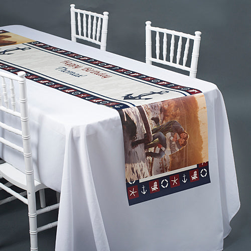Anchors Away Table Top-It Runner