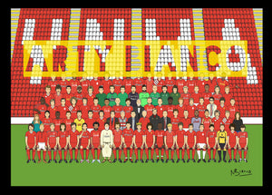 Liverpool Legends Squad Print.