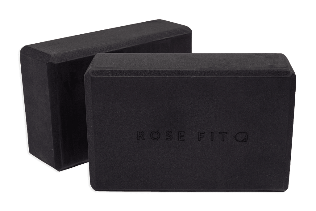 RoseFit Eco Foam Yoga Blocks