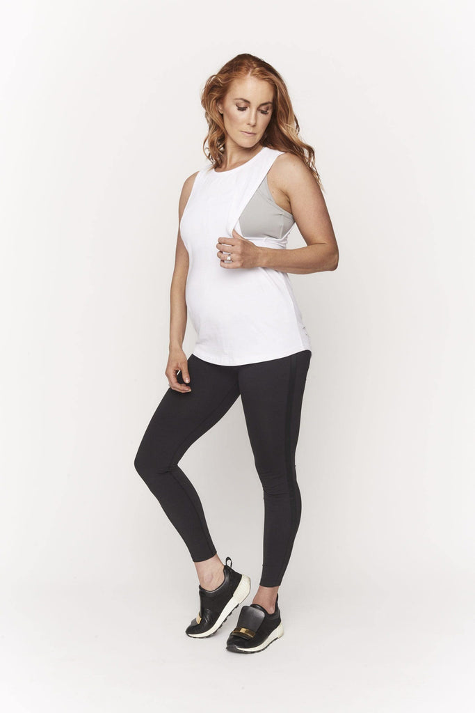 Relaxed Nursing Tank - Bump On