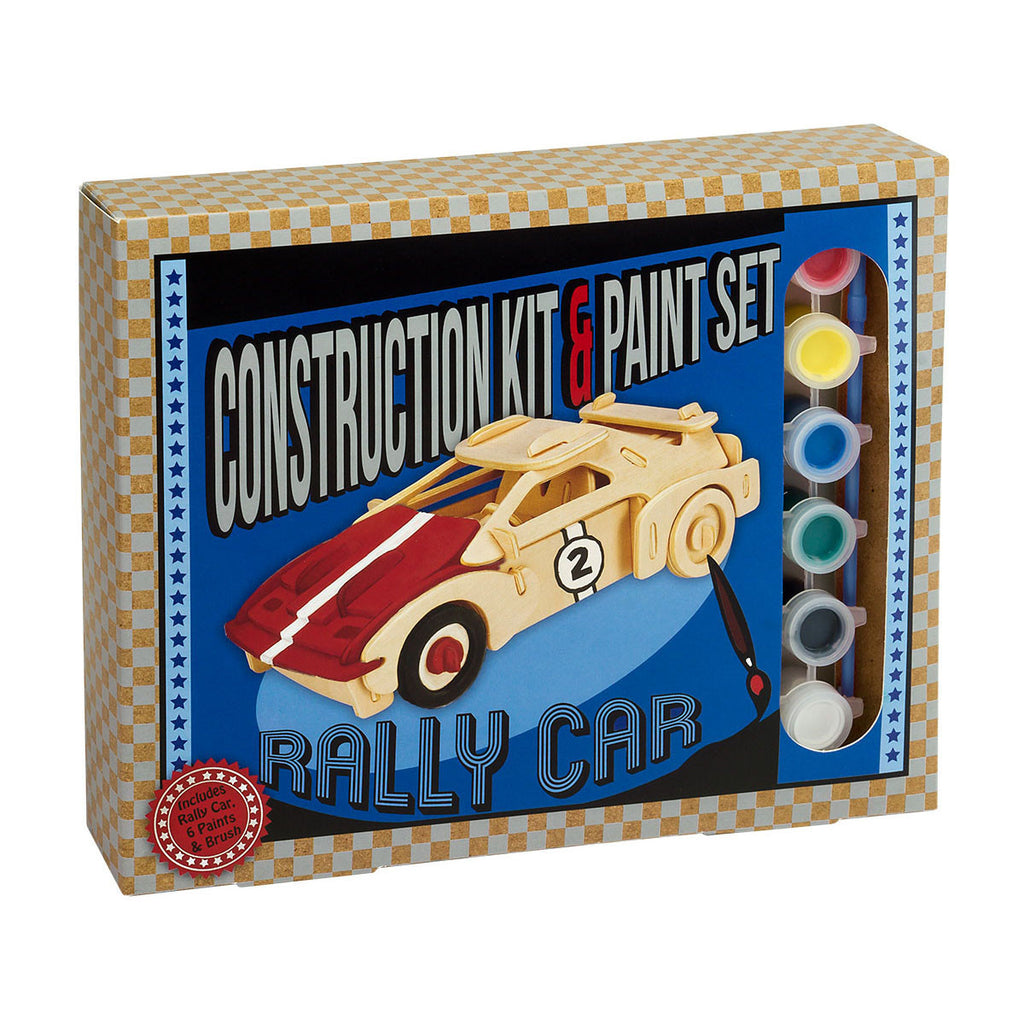 Construction Kit and Paint Set Rally Car