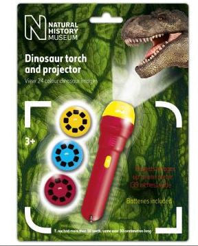 Natural History Museum Dinosaur Torch and Projector