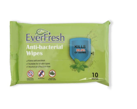 75% Alcohol Antibacterial Wipe (10 pcs)
