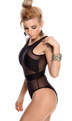 Mesh Bathing Suit