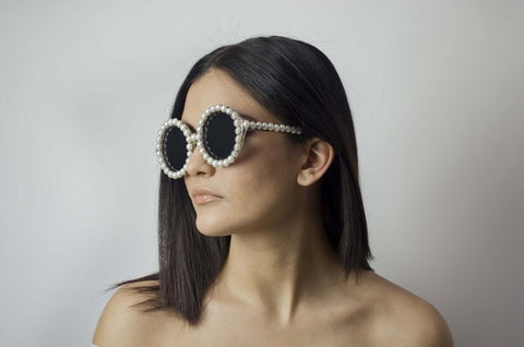 Girly Pearl Sunglasses