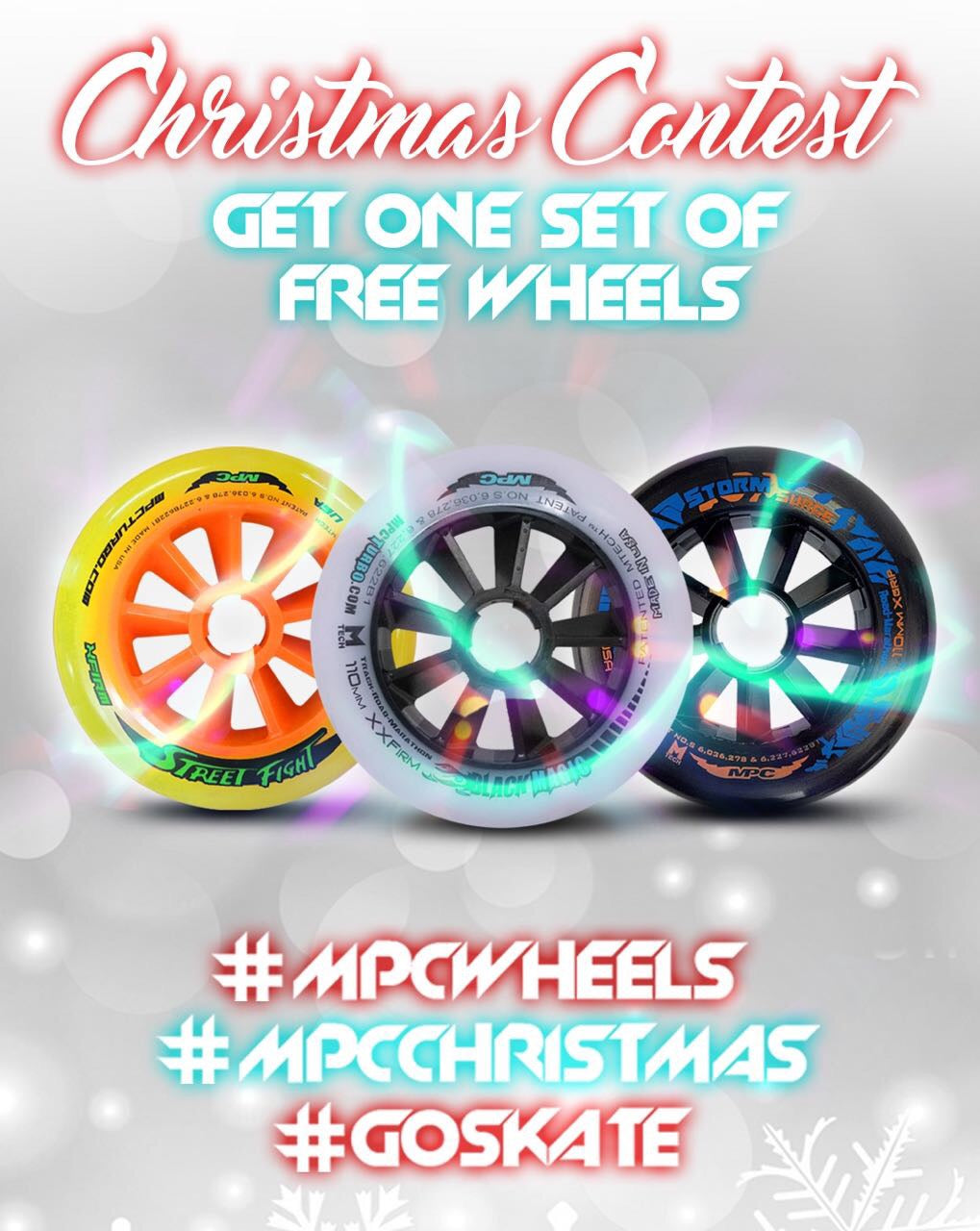MPC Wheels Christmas contest is here!