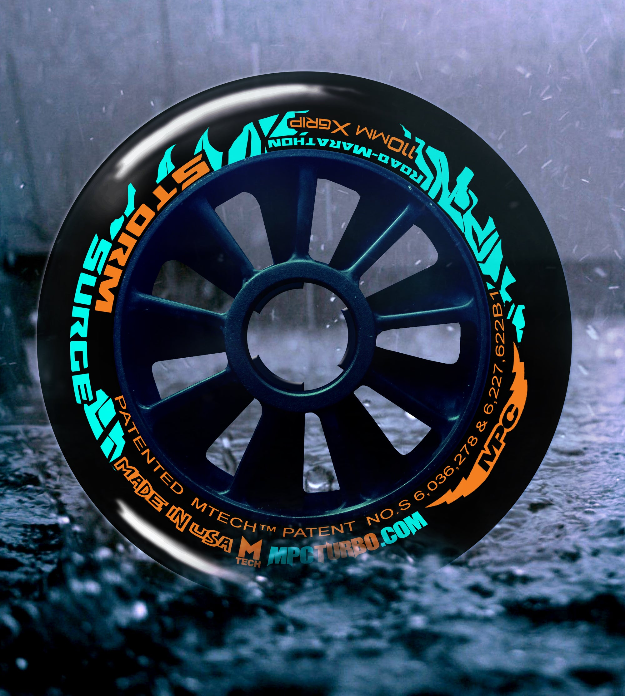 MPC Storm Surge the only inline skating wheels designed to #GoSkate in the rain