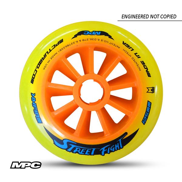 MPC 125mm inline skating wheels