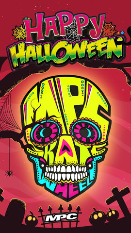 Junk Wheels Halloween MPC Wheels Black Magic MPC Inline Skating Roller Blading #GoSkate #SkateLife