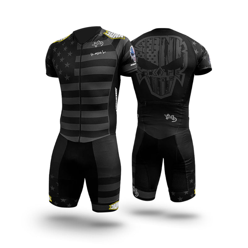 Junk Wheels USA Pro Racing Suit Short Sleeve