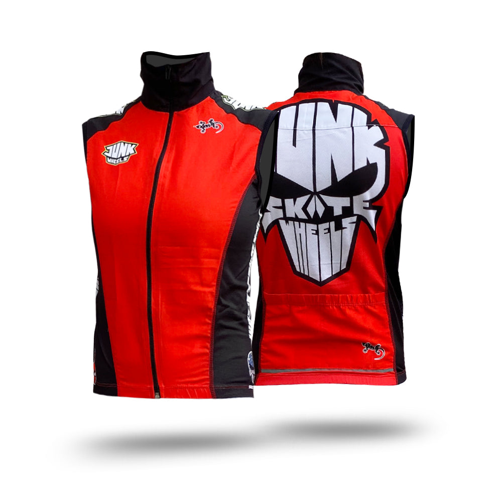 Junk Wheels WindBlock Vest Red