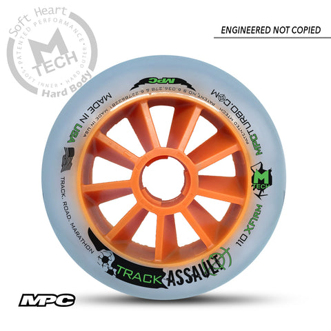 MPC Wheels Track Assault Inline Skating Wheels