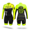MPC Wheels Calavera Skinsuit Yellow by Excel Skinz inline speed skating clothes