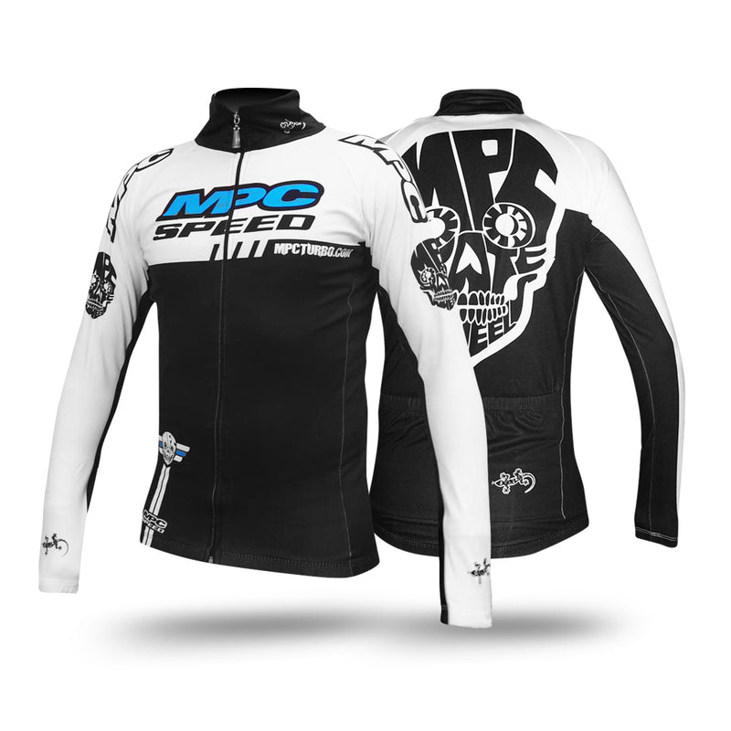 MPC Wheels Jacket Skull White Calavera Clothing for inline skating