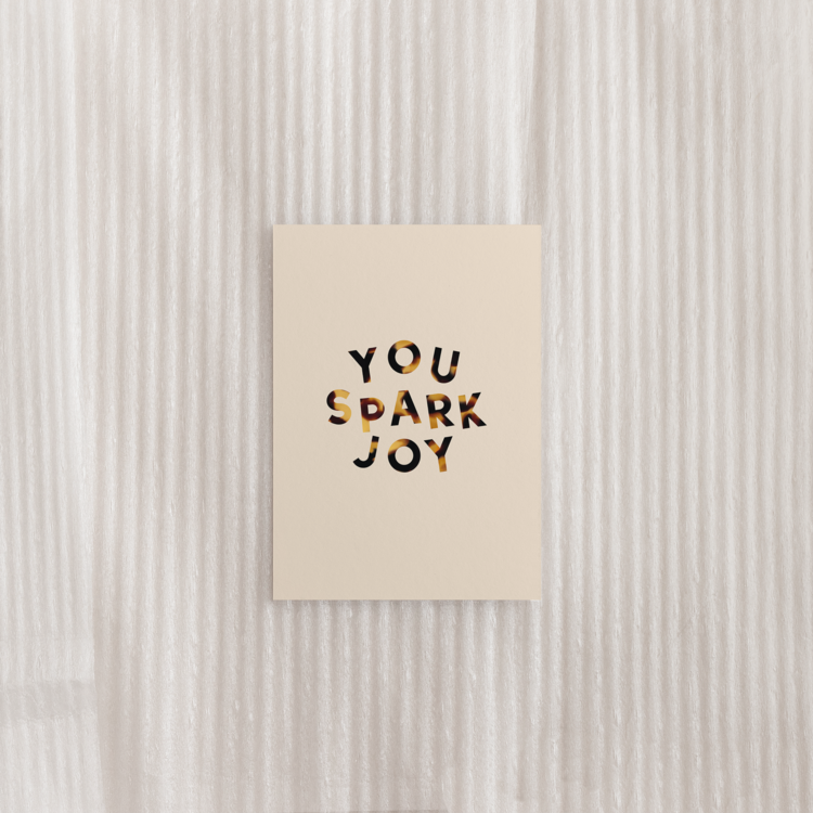 You Spark Joy Postcard