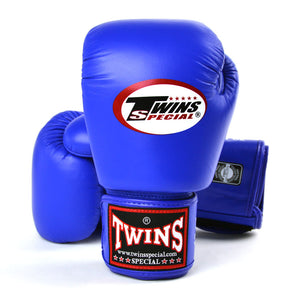 Twins Special Muay Thai Gloves - Blue (BGVL3)
