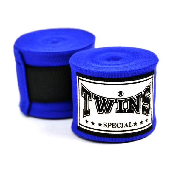 Twins Navy Blue Hand Wraps - 5m