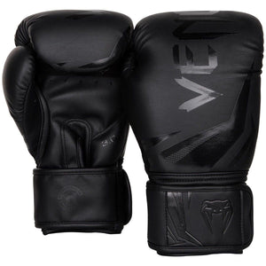 Venum Challenger 2.0 Boxing Gloves - Black & Black