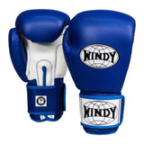 Windy Classic Boxing Gloves - Blue/White