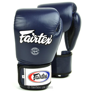 Fairtex Muay Thai Gloves - 3 Tone Blue (BGV1)