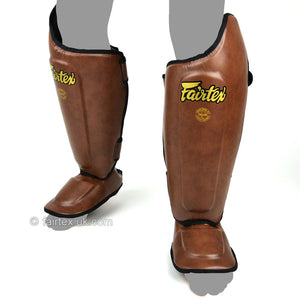 Fairtex Vintage Brown Ultimate Shin Pads (SP8)