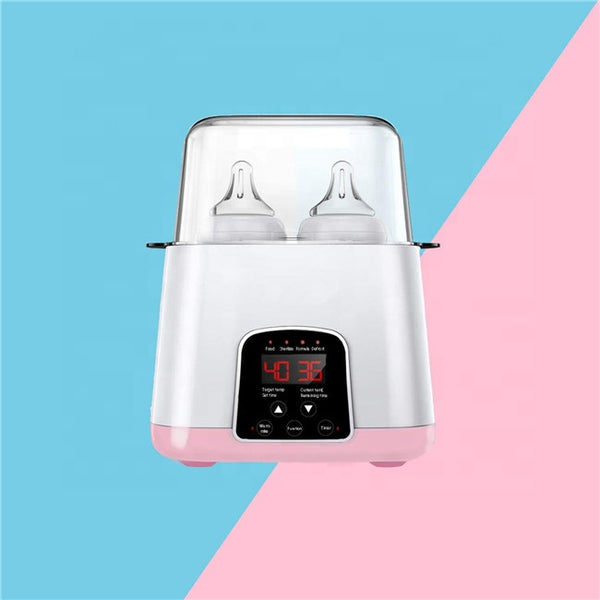 Double Bottle Baby Warmer LED Display Milk Formula Sterilizer