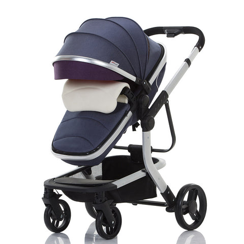 3N1 Luxury Pram Folding Stroller with Car Seat