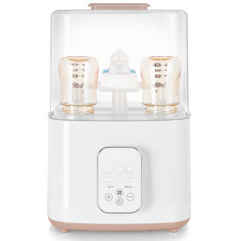 Multi-function Digital Baby Bottle Sterilizer With Dryer and Twin Bottle Warmer