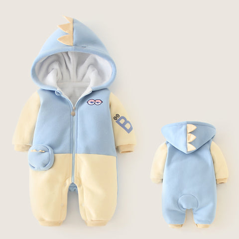 2019 Winter Newborn Baby Girl Clothes Cute Cartoon Baby Boy Clothing Clothes Rompers For kids