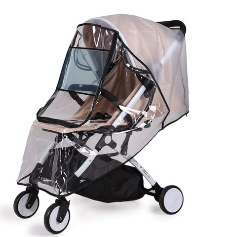 Eco Friendly Baby Stroller Rain Cover, Anti-UV Shield Windproof Protector