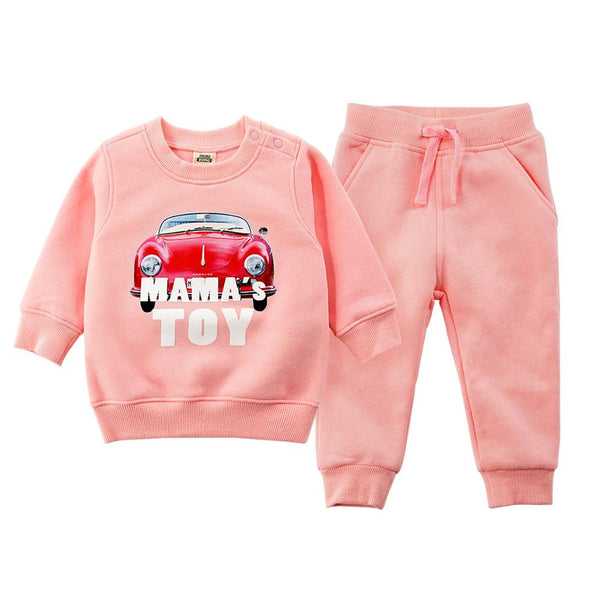 Casual Cotton Pullover Sweat Shirt and Pants Clothes set.