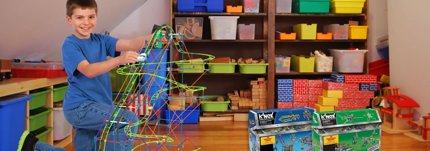 Kids love K'Nex construction toys