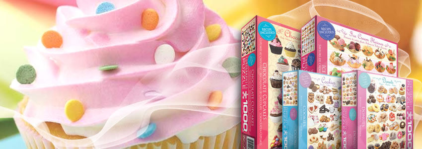 Jigsaw Puzzles Dessert Collection