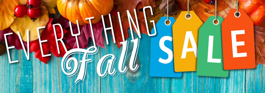 Fall Seasonal Every Item Sale