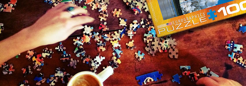 Play Jigsaw Puzzles with Your Family