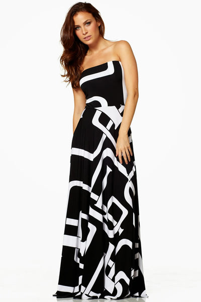 Strapless Maxi Convertible