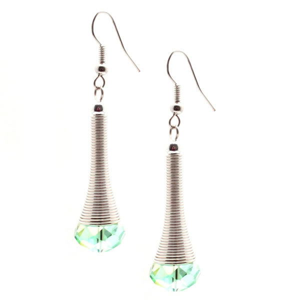 Chrysolite Cosmo Drop Earrings