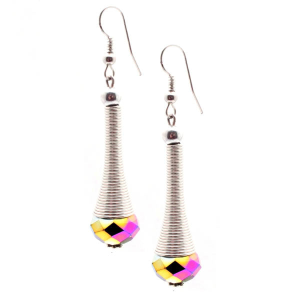 Rainbow Cosmo Drop Earrings