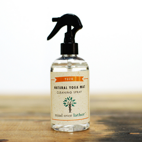 Mind Over Lather 100% Natural Yoga Mat Cleaning Spray