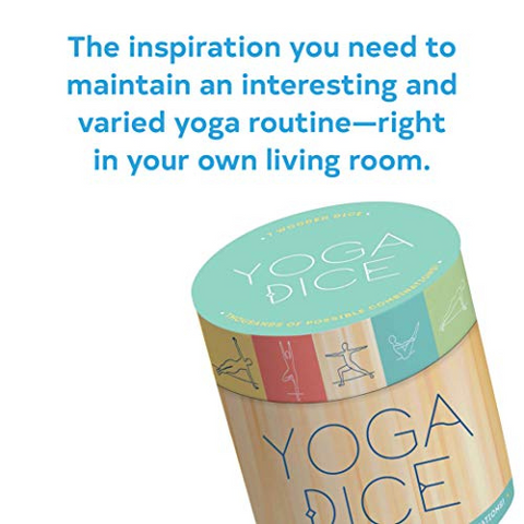Yoga Dice: 7 Wooden Dice, Thousands of Possible Combinations!