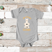 Load image into Gallery viewer, No Drama Llama Baby Short Sleeve Onesie