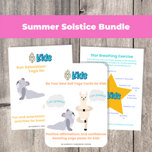 Load image into Gallery viewer, Summer Solstice Yoga Bundle for Kids