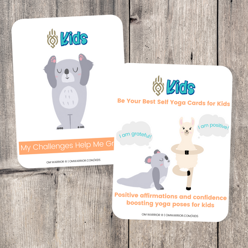 Whether you are a parent practicing yoga with your child, an educator, or a kids yoga teacher, this is a wonderful resource for children to build their own yoga and mindfulness practice. Use these cards as warm-up activities, brain breaks, a transition between activities, or simply as a fun and calming yoga sequence.