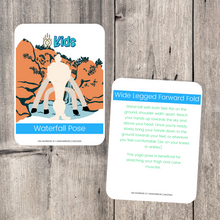 Load image into Gallery viewer, Earth Day Yoga Cards for Kids