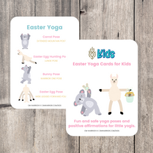 Load image into Gallery viewer, Easter Yoga Cards for Kids