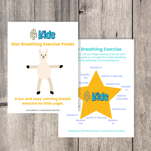 Whether you are a parent practicing mindfulness with your child, an educator, or a kids yoga teacher, this is a wonderful resource for children to build their own yoga and mindfulness practice. Use this printable as a fun activity to add to your yoga and mindfulness practice, or make it an interactive activity on its own!