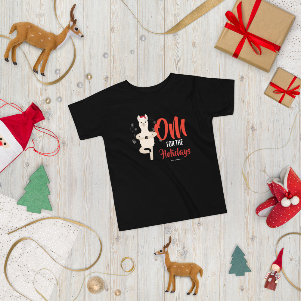 OM For The Holidays Toddler Short Sleeve Tee